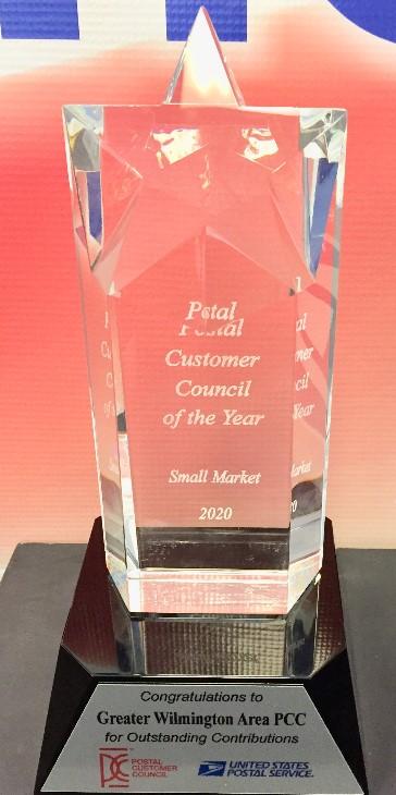 2020 9 22 GWAPCC Award Small Market Crystal